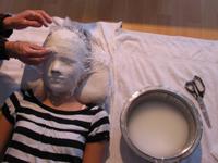 Gipsmasken kindergeburtstag